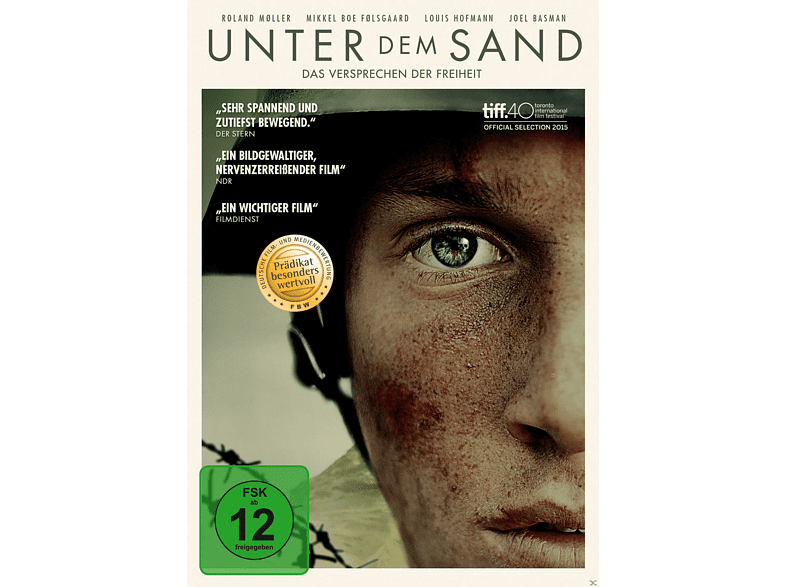 Unter dem Sand - Das Versprechen der Freiheit [DVD]