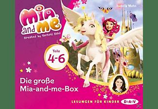 Isabella Mohn - Die große Mia-and-me Box (Teile 4-6)  - (CD)
