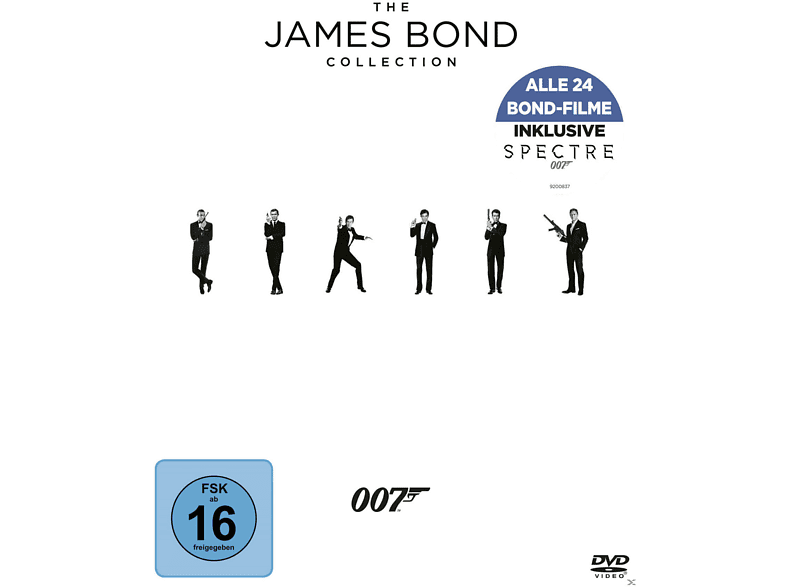 The James Bond Collection [DVD]