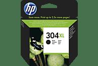 HP 304XL Tintenpatrone Schwarz (N9K08AE)