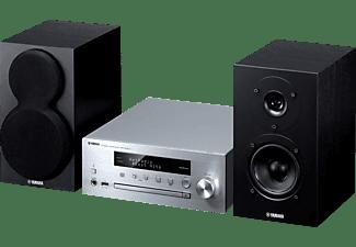 YAMAHA MCR-N470D Kompaktanlage (Ja, Silber/Schwarz)