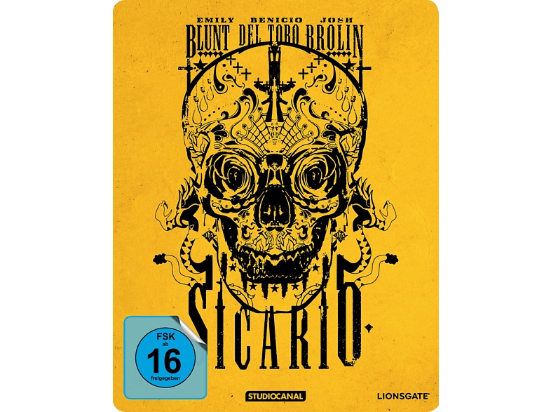 Sicario (Steel-Edition) [Blu-ray]