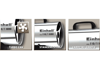 EINHELL Heissluftgenerator Niro HGG 110/1 (2330111)