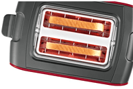 BOSCH TAT6A114 ComfortLine Toaster Rot/Anthrazit (1090 Watt, Schlitze: 2)