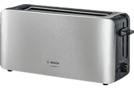 BOSCH TAT6A803 ComfortLine Toaster Edelstahl/Schwarz (1090 Watt, Schlitze: 1)