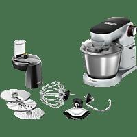 BOSCH MUM9D33S11 OptiMum Küchenmaschine Platin/Silber 1300 Watt
