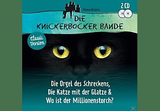 VARIOUS - Die Knickerbocker Bande 3 Folgen: Die Orgel Des SC  - (CD)