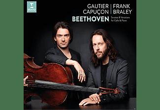 CAPUCON,GAUTIER/FRALEY,FRANK - Sämtliche Sonaten Für Cello Und Klavier  - (CD)