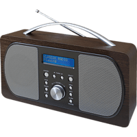 SOUNDMASTER DAB 600 DBR, Digitalradio