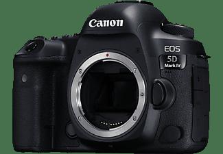 CANON EOS 5D MARK IV Gehäuse Spiegelreflexkamera, 4K, Full HD, HD, Touchscreen Display, WLAN, Schwarz