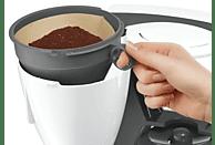BOSCH TKA6A041 ComfortLine Kaffeemaschine Weiß/Dunkelgrau