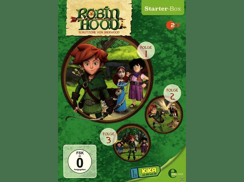 Robin Hood-Schlitzohr Von Sherwood - (1) Starter-Box [DVD]