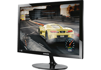 "Monitor gaming - Samsung LS24D330HSX, 24"", Full HD, 1ms, HDMI, Negro"