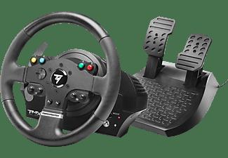 THRUSTMASTER TMX Force Feedback (inkl. 2-Pedalset, Xbox One / PC / Xbox Series X S), Lenkrad, Schwarz