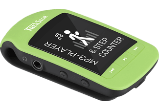 TREKSTOR 79824 jump BT Mp3-Player (8 GB, Schwarz/Grün)
