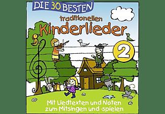 Simone Sommerland, Karsten Glück & Die Kita-frösche - Die 30 Besten Traditionellen Kinderlieder Vol.2  - (CD)
