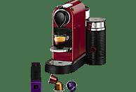 KRUPS XN7605 Krups Nespresso New CitiZ & Milk Kapselmaschine Cherryrot