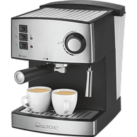 CLATRONIC ES 3643 Espressomaschine Schwarz/Edelstahl
