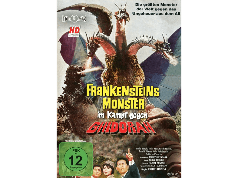 Frankensteins Monter im Kampf gegen Ghidorah [DVD]