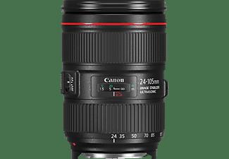 CANON EF 24-105MM f/4 L IS II USM 24 mm - 105 mm f/4 IS II, USM (Objektiv für Canon EF-Mount, Schwarz)