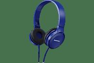 PANASONIC RP-HF100ME-A, On-ear Kopfhörer  Blau