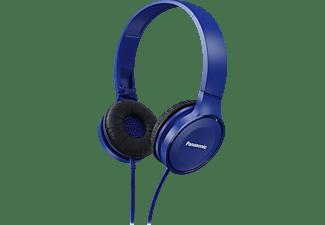 PANASONIC RP-HF100M, On-ear Kopfhörer Blau