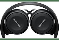 PANASONIC RP-HF100ME-K, On-ear Kopfhörer  Schwarz