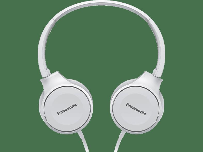 PANASONIC RP-HF100ME-W, On-ear Kopfhörer  Weiß
