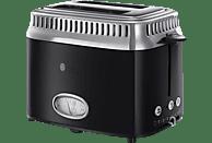 RUSSELL HOBBS 21681-56 Retro Classic Noir Toaster Schwarz/Edelstahl (1300 Watt, Schlitze: 2)