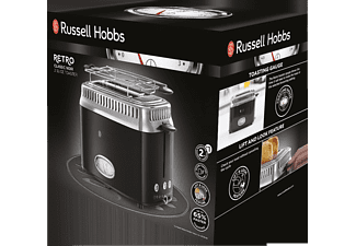 RUSSELL HOBBS 2-Schlitz-Toaster Retro Classic Noir 21681-56