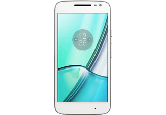 "Móvil - Motorola G4 Play, Blanco, 16 GB, 2 GB RAM, 5"", Snapdragon 410, 2800 mAh, Android"