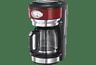 RUSSELL HOBBS 21700-56 Retro Ribbon Red Kaffeemaschine Rot/Edelstahl