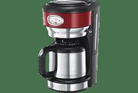 RUSSELL HOBBS 21710-56 Retro Ribbon Red Kaffeemaschine Rot/Edelstahl