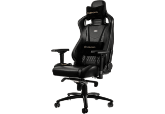 NOBLECHAIRS Epic Series Real Leather Gamingstol - Svart