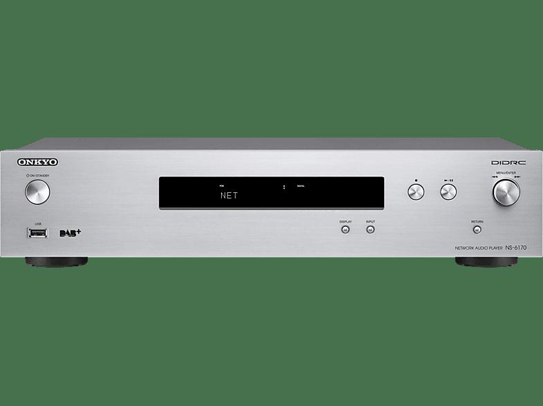 ONKYO NS-6170 Netzwerk-Audioplayer (Silber)