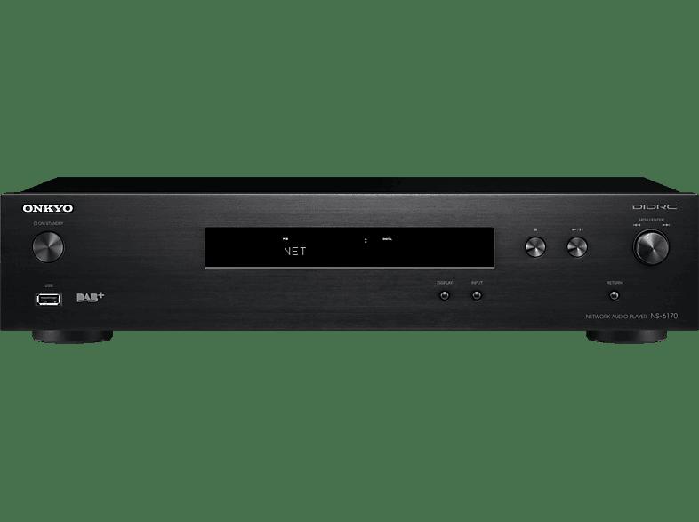 ONKYO NS-6170 Netzwerk-Audioplayer (Schwarz)