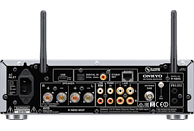 ONKYO R-N855 Stereo Netzwerk-Receiver (2 Kanäle, 70 Watt pro Kanal, Silber)