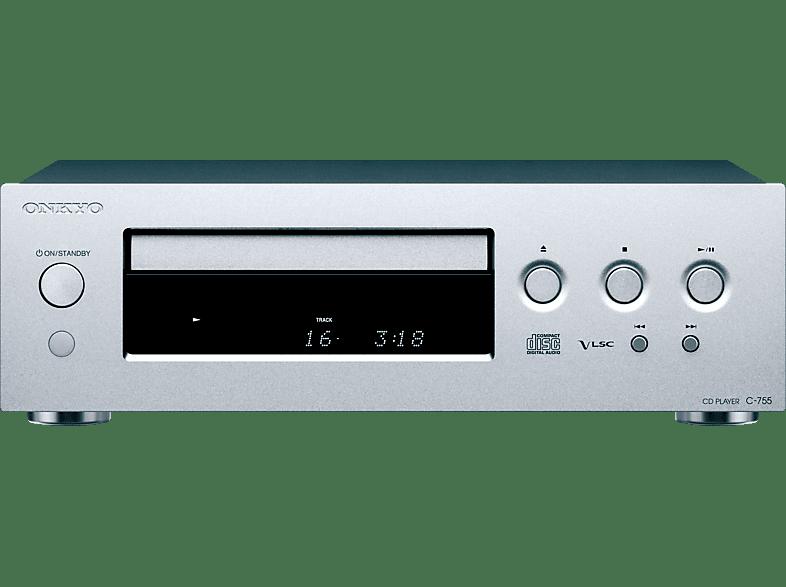 ONKYO C-755 CD-Player (Silber)