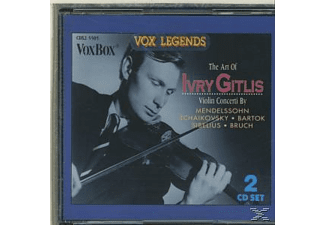 Gitlis, Horenstein, WR.SYMPH., Ivry/Wiener S.O. Gitlis - The Art of Ivry Gitlis - (CD)