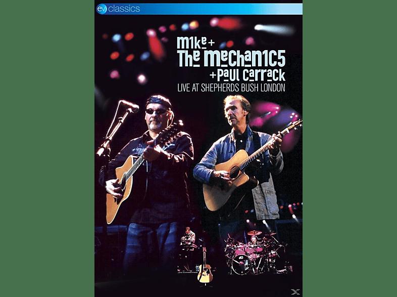Mike & The Mechanics, Paul Carrack - LIVE AT SHEPHERDS BUSH LONDON [DVD]