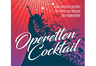 Peter Anders, Elisabeth Schwarzkopf, Nicolai Gedda - OPERETTENCOCKTAIL-DAS LAND DES LÄCHELNS-DER VETTER  - (CD)
