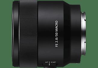 SONY SEL50M28 Vollformat 50 mm - 50 mm f/2.8 ED, ASPH, Circulare Blende (Objektiv für Sony E-Mount, Schwarz)