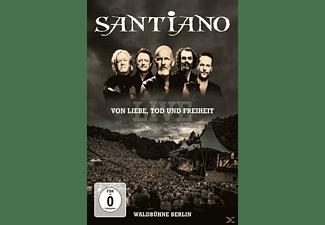 Santiano - Von Liebe,Tod Und Freiheit-Live  - (DVD)