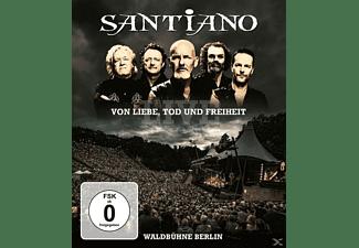Santiano - Von Liebe,Tod Und Freiheit-Live  - (Blu-ray)