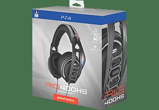 NACON RIG 400HS Offizielles Playstation 4 Lizenziertes, Over-ear Gaming Headset Schwarz