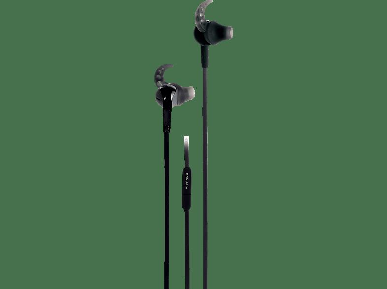 VIVANCO SPX 40 Blacksport, In-ear Kopfhörer  Schwarz