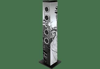 BIGBEN TW7 - Statue of Liberty Soundtower, Grau/Schwarz