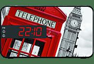 BIGBEN RR15 - Phone Box Radio-Wecker, Mehrfarbig