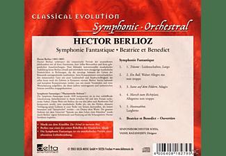 Sinfonieorch.Sofia - Symphonie Fantastique/Beatrice  - (CD)