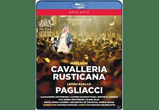 Royal Opera House & Antonio Pappano - Cavalleria Rusticana/Pagliacci  - (Blu-ray)